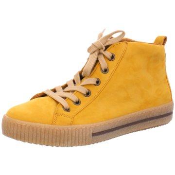 Gabor Sneaker HighStiefel gelb