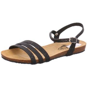 Plakton Sandale schwarz