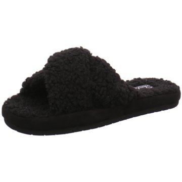 Skechers Klassische Pantolette schwarz