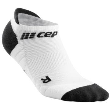 CEP Hohe Socken NO SHOW SOCKS 3.0 - WP46X weiß