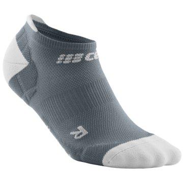 CEP Hohe Socken ULTRALIGHT NO SHOW SOCKS - WP46Y grau