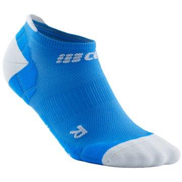 CEP Hohe Socken ULTRALIGHT NO SHOW SOCKS - WP46Y blau