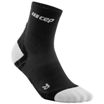 CEP Hohe Socken ULTRALIGHT SHORT SOCKS - WP4BY schwarz