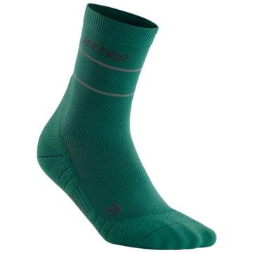 CEP Hohe Socken REFLECTIVE MID-CUT SOCKS - WP4CZ grün