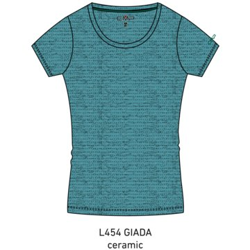 CMP T-ShirtsWOMAN T-SHIRT - 30T7236 blau