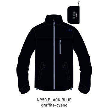 CMP RegenjackenMAN JACKET FIX HOOD - 30X9757 blau
