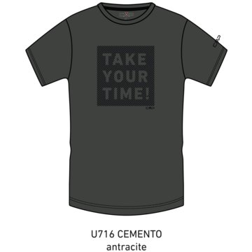 CMP T-ShirtsMAN T-SHIRT - 38T6457 grau
