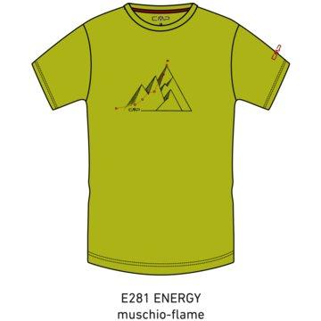 CMP T-ShirtsKID T-SHIRT - 38T6744 gelb