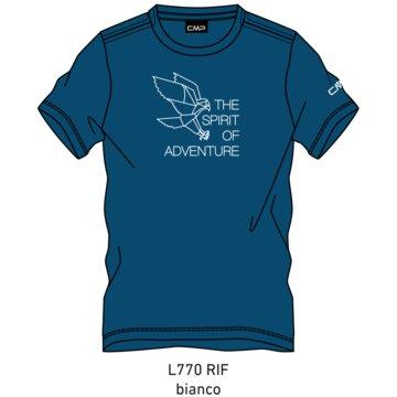 CMP T-ShirtsKID T-SHIRT - 39T7544 blau
