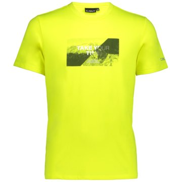 CMP T-ShirtsMAN T-SHIRT - 39T7567 gelb