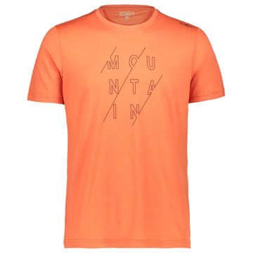 CMP T-ShirtsMAN T-SHIRT - 39T8347 orange