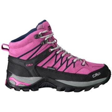 CMP Outdoor SchuhRIGEL MID WMN TREKKING SHOE WP - 3Q12946 pink