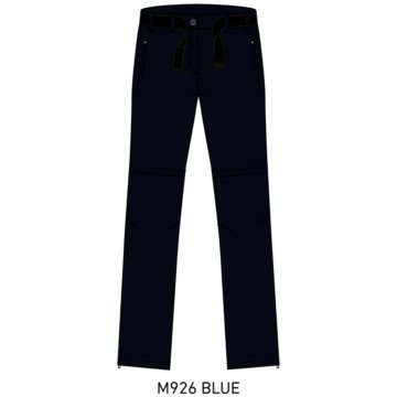 CMP OutdoorhosenWOMAN ZIP OFF PANT - 3T51446 blau