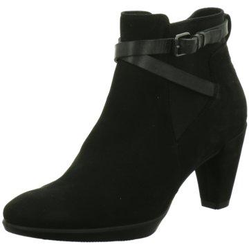 Ecco Ankle BootShape 55 Plateau schwarz