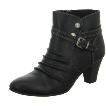 Mustang Ankle Boot schwarz