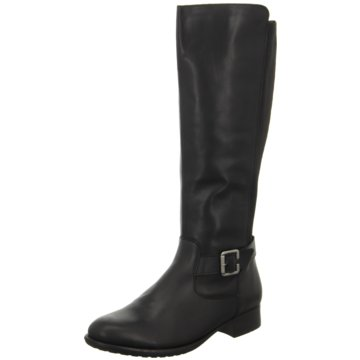 Remonte Klassischer Stiefel schwarz
