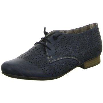 Rieker Klassischer SchnürschuhSneaker blau