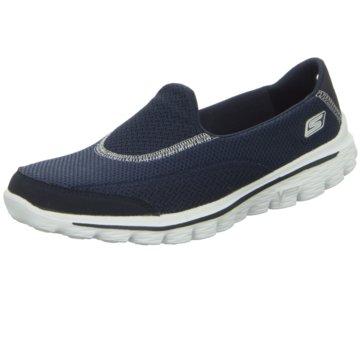 Skechers Sportlicher SlipperGo Walk 2 blau