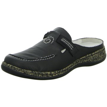 Rieker Komfort PantolettePantolette schwarz