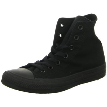 Converse Sneaker HighChuck Taylor All Star high Sneaker Herren Schuhe schwarz schwarz