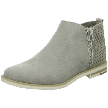Marco Tozzi Ankle Boot grau