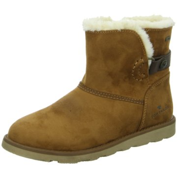 Tom Tailor Winterstiefel braun