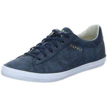 Esprit Sneaker Low blau