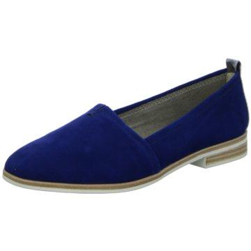 Tamaris Klassischer Slipper blau