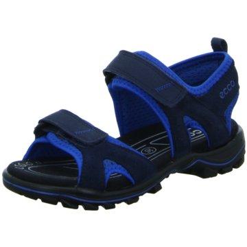 Ecco Sandale blau