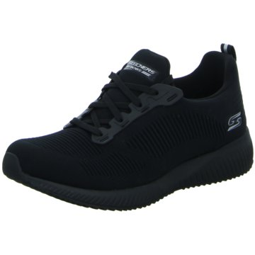 Skechers Sneaker LowBobs Squad Tough schwarz