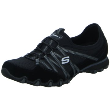 Skechers Komfort SlipperBikers-Hot-Ticket schwarz