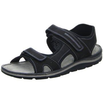 Scarbello Sandale schwarz