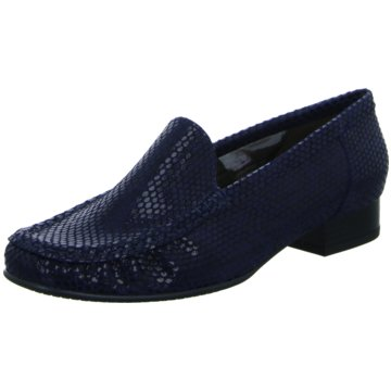 Jenny Flacher Pumps blau