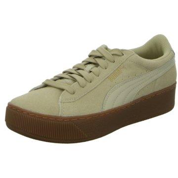 Puma Sneaker LowVikky Platform beige