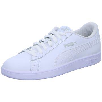Puma Sneaker Low SMASH V2 L - 365215 weiß