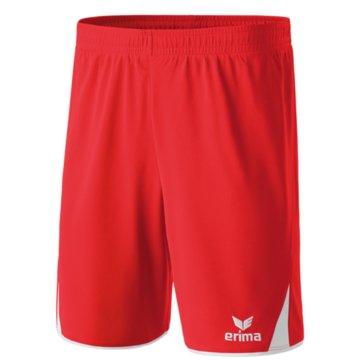 Erima Kurze Sporthosen rot