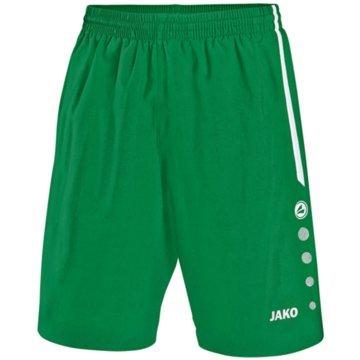 Jako Fußballshorts grün
