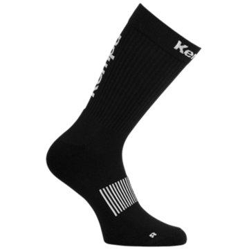 Kempa Hohe Socken schwarz