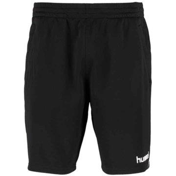 Hummel Kurze Sporthosen schwarz