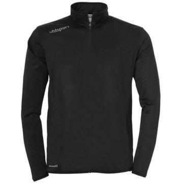 Uhlsport SweaterESSENTIAL 1/4 ZIP TOP - 1005171 schwarz
