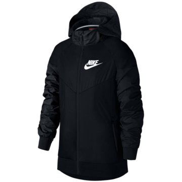 Nike SweatjackenBoys' Nike Sportswear Windrunner Jacket - 850443-011 schwarz