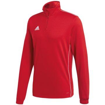 adidas SweatshirtsCORE18 TR TOP Y - CV4141 rot