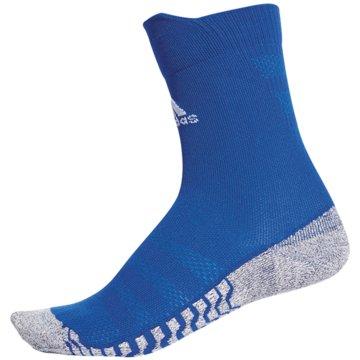 adidas Hohe SockenAlphaskin Traxion Ultralight Crew Socks blau