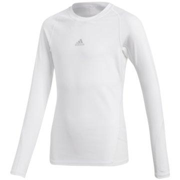 adidas Fan-T-Shirts weiß