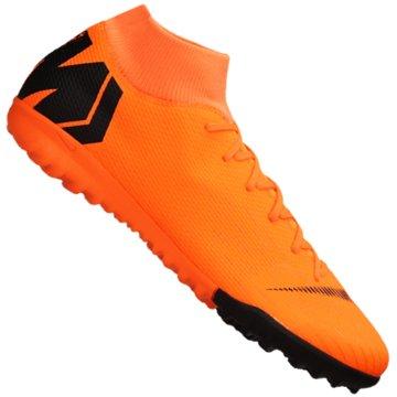 Nike Multinocken-SohleMercurialX Superfly VI Academy TF orange