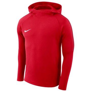 Nike HoodiesBOYS' DRY ACADEMY18 FOOTBALL HOODIE - AJ0109-657 rot