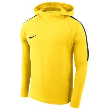 Nike HoodiesBOYS' DRY ACADEMY18 FOOTBALL HOODIE - AJ0109-719 gelb
