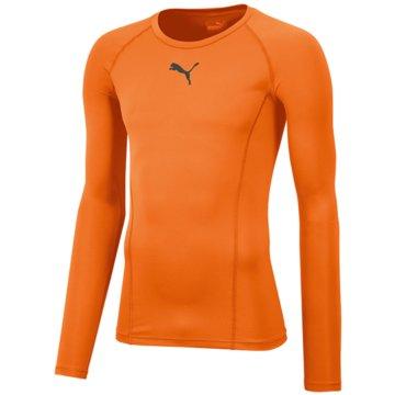 Puma LangarmshirtLIGA BASELAYER TEE LS - 655920 orange