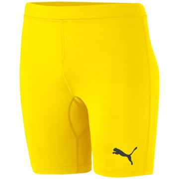 Puma TightsLIGA BASELAYER SHORT TIGHT - 655924 gelb