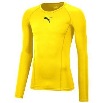Puma Langarmshirt gelb